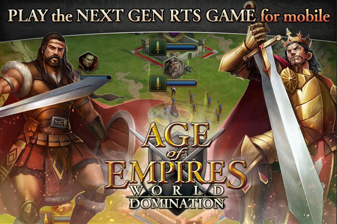 Age of Empires: World Domination Telah Rilis di Android dan iOS