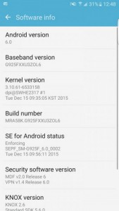 Android 6.0 Marshmallow Beta Samsung Galaxy S6