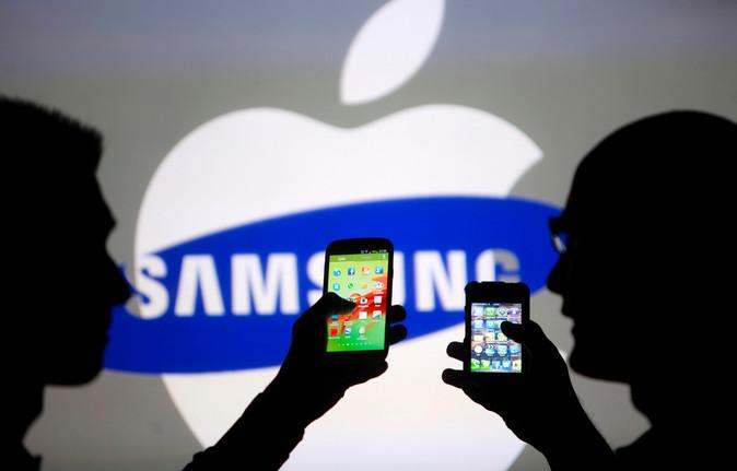 Terang-terangan, Samsung Tantang Apple di Apple Store