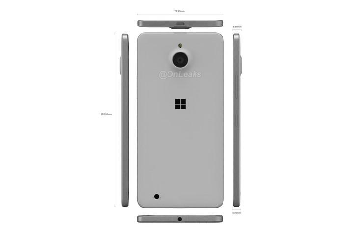 Inikah Microsoft Lumia 850, Smartphone Tertipis Diantara Keluarga Lumia?
