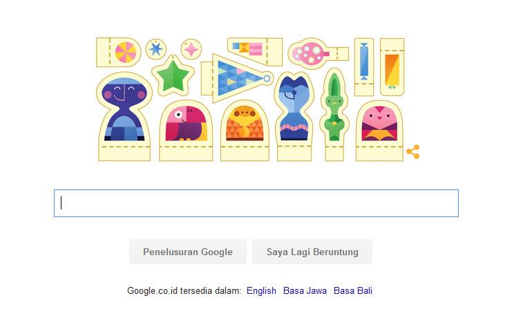 """Liburan Tiba, Google Ucapkan """"Selamat Hari Libur!"""" Lewat Doodle"""