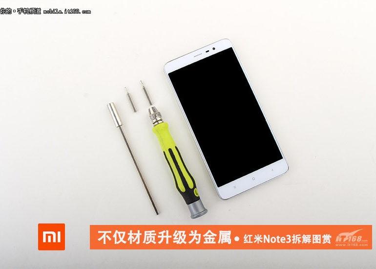 Xiaomi Redmi Note 3 Dipreteli, Ini Organ Dalamnya