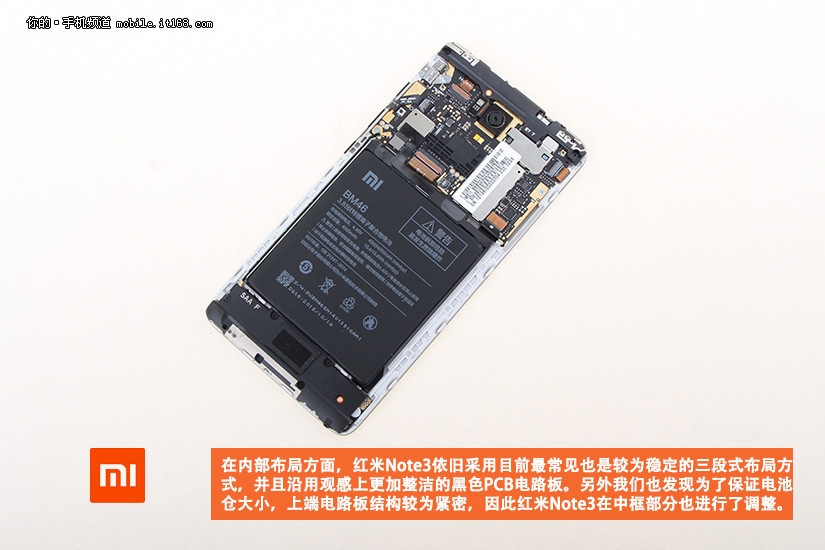 Komponen Xiaomi Redmi Note 3 6