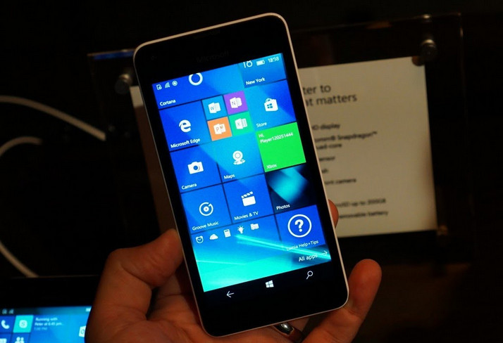 Microsoft Lumia 550 Segera Debut di India