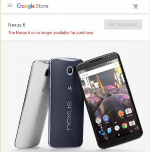 Penjualan Motorola Nexus 6P