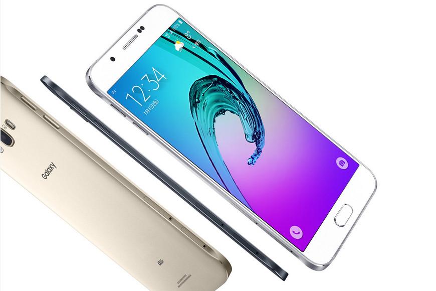 Samsung Galaxy A8 versi Jepang 2