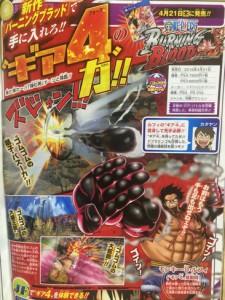 Tanggal rilis One Piece Burning Blood 1