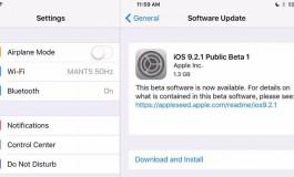 Pengembang Terdaftar Sudah Bisa Unduh iOS 9.2.1 Public Beta 1