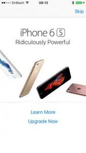 iklan iPhone 6s di App Store