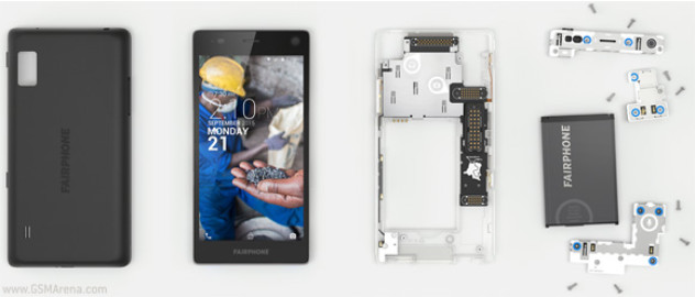ponsel modular Fairphone 2