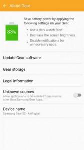 Aplikasi Pendamping Smartwatch Samsung Gear Diperbarui 1
