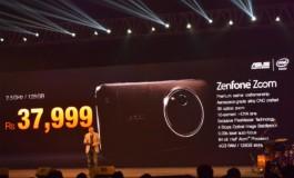Asus Zenfone Zoom Kini Tersedia di India