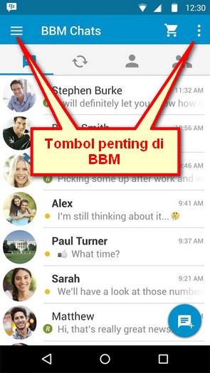Cara Menggunakan BBM di Ponsel Android