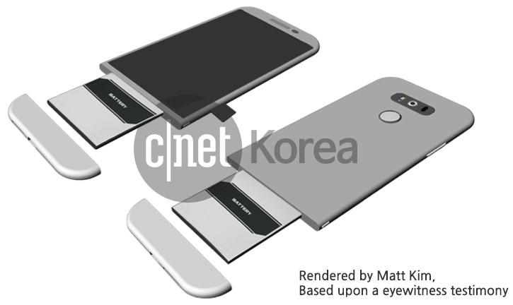 LG G5 Usung Desain yang Benar-benar Baru