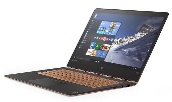 Lenovo Yoga 900S Diperkenalkan di CES 2016