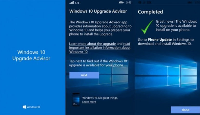 Mau Update Lumia ke Windows 10 Mobile? Periksa Kompatibilitas Dengan Upgrade Advisor