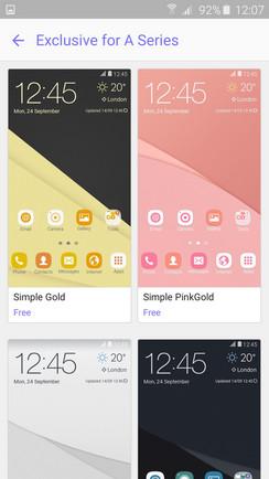 Samsung Berikan Tema Eksklusif Untuk Smartphone Lini Galaxy A 3