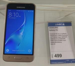 Samsung Galaxy J1 edisi 2016 (J16) Diluncurkan di Dubai