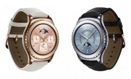 Samsung Gear S2 Rose Gold & Platinum Sambangi Paman Sam
