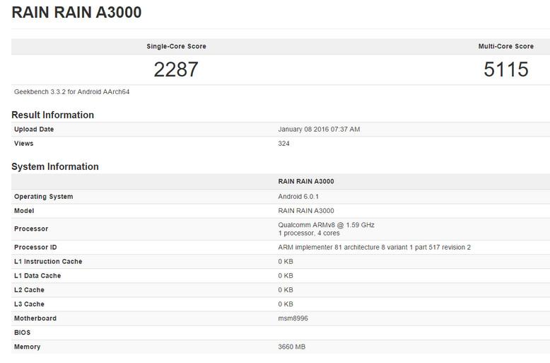 Snapdragon 820 revisi 2