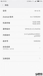 Xiaomi Mi 4 Mulai Dapatkan Update Android 6.0.1 Marshmallow 1