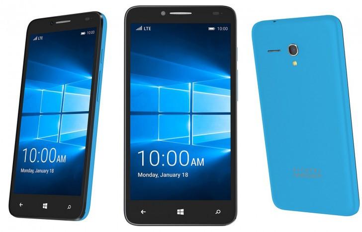 Alcatel Fierce XL Sudah Terima Update Windows 10 Mobile Build 10.586,164