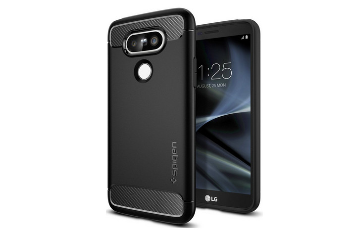 Bocoran LG G5 Terlihat Kenakan Case Spigen