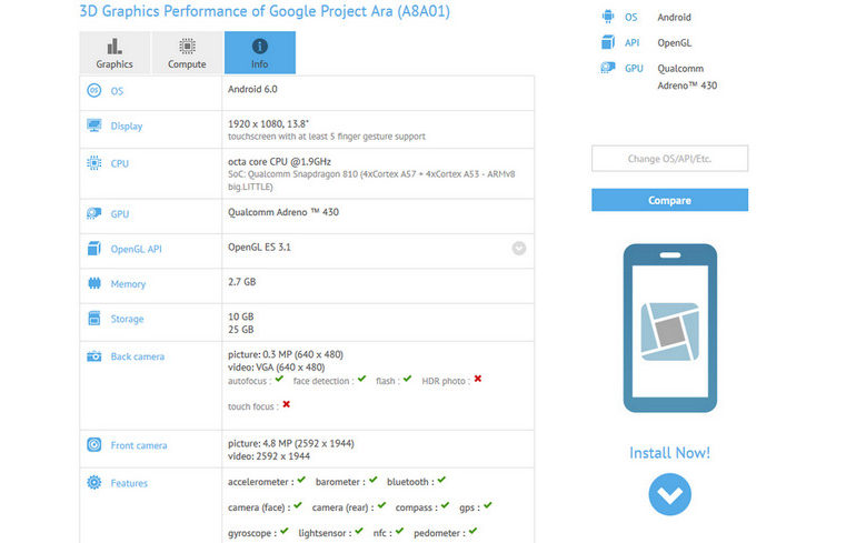 Bukan Smartphone, Project Ara Google Adalah Tablet 13,8 Inci