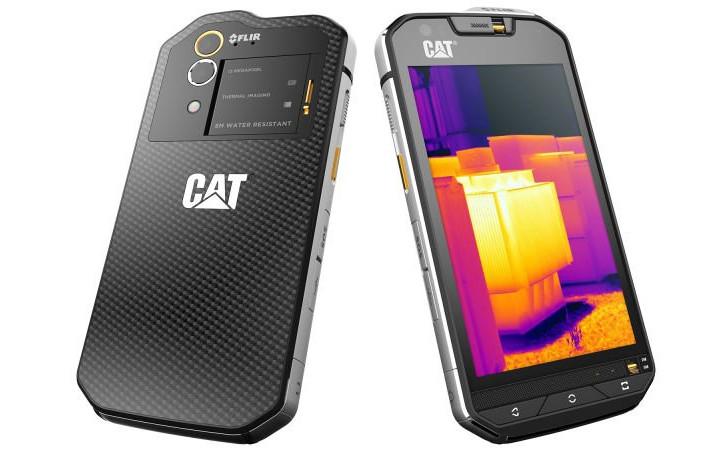 CAT S60, Smartphone Tangguh Berkamera Thermal Tersedia Pre-order Bulan Depan