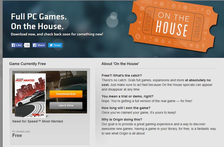 EA Berikan Download Need for Speed: Most Wanted Untuk PC Gratis di Origin