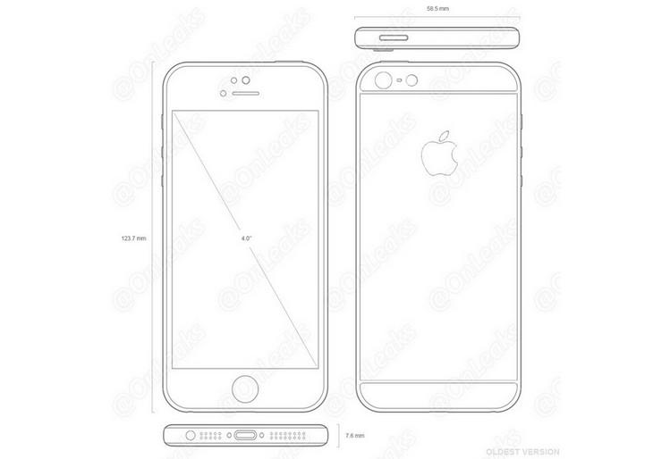 Gambar Skema iPhone 5SE Muncul, Konfirmasi Bocoran Sebelumnya!