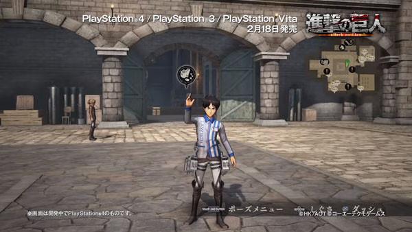 Gameplay Baru Attack on Titan Perlihatkan Kostum Lawson Eren & Junior High Armin