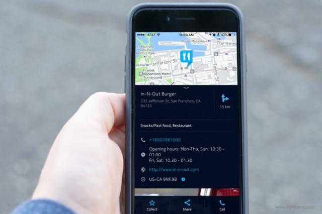 Here Maps Untuk iOS Kini Mendukung 3D Touch