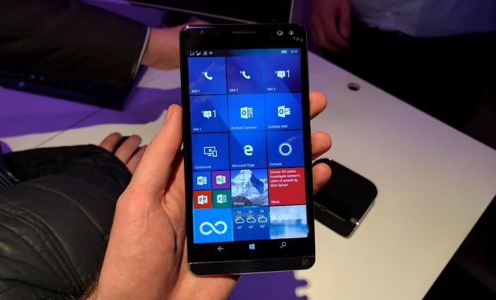 Lebih Banyak Foto HP Elite X3 Terlihat, Ponsel Dibekali Baterai 4.150mAh