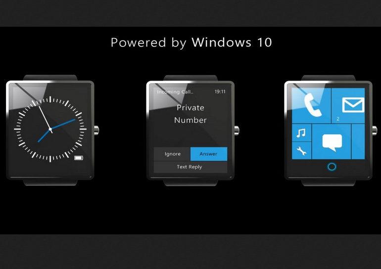 Microsoft Surface Watch, Konsep Desain Smartwatch Windows 10 Mobile