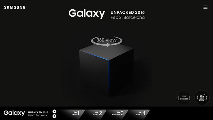 Peluncuran Samsung Galaxy S7 Akan Disiarkan Live Streaming 360