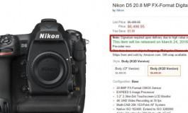 Rilis Nikon D5 Diundur ke 24 Maret