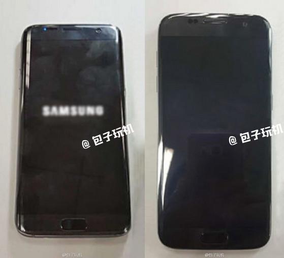 Samsung Galaxy S7 Edge Warna Hitam Kembali Terlihat
