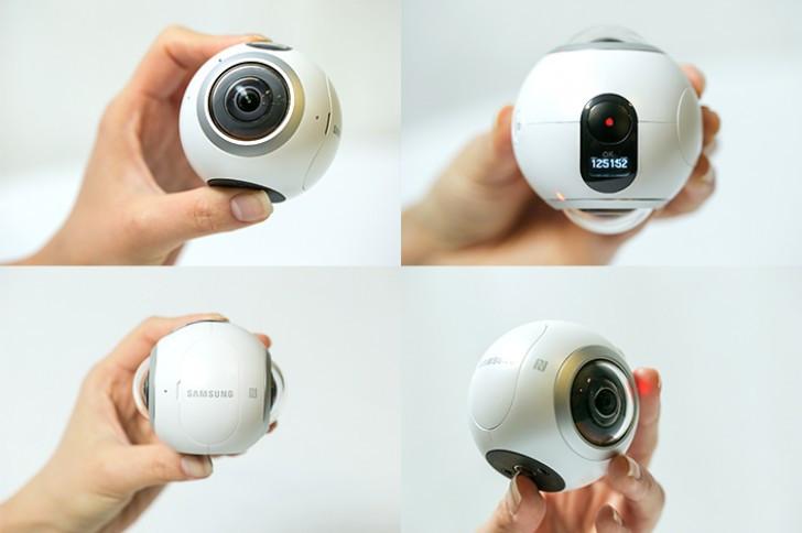 Samsung Rilis Kamera 360°, Gear 360!