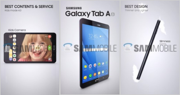 Sekumpulan Brosur Bocor Perlihatkan Desain Samsung Galaxy Tab A 7.0