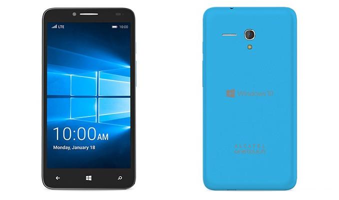 Smartphone Windows 10 Mobile Alcatel Fierce XL Mulai Dipasarkan