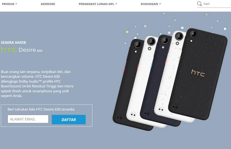 Sttt... HTC Desire 825 & 630 Segera Hadir di Indonesia, Pendaftaran Sudah Dibuka 2