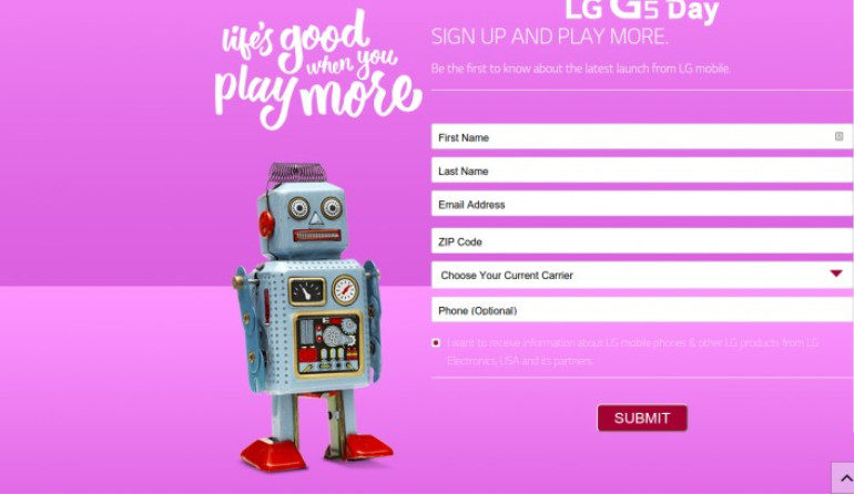 Tertarik Dengan LG G5? LG Sudah Buka Pendaftaran
