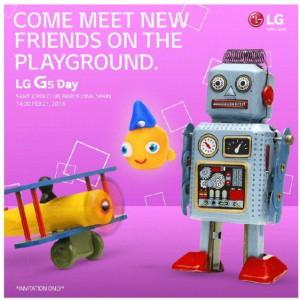Undangan LG G5 di MWC Mulai Disebar