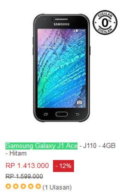 Valentine, eComerce Ini Diskon Xiaomi Redmi Note 3 & Samsung Galaxy Galaxy J1 Ace 2