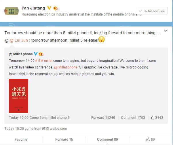 Xiaomi Mi 5 Bukan Satu-satunya Produk yang Akan Diluncurkan Besok 1