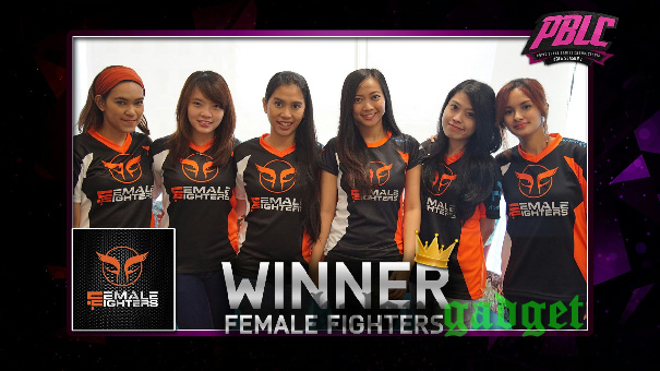 FEMALE FIGHTERS Jadi Juara di Point Blank Ladies Championship 2016 Season 1 2