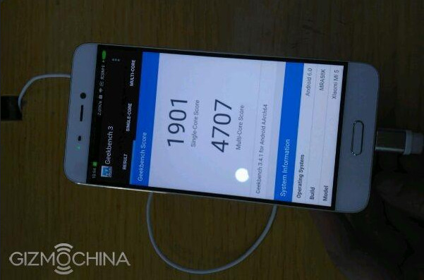 Gambar Ini Perlihatkan Benchmark Xiaomi Mi 5 Standard Edition 2