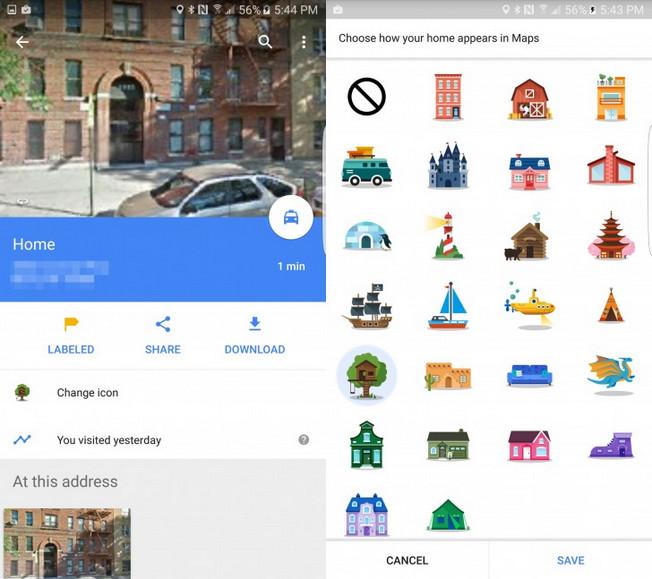 Google Maps Sekarang Bisa Dipasangi Stiker 1