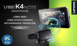 Harga Rp 2,9 Juta, Pre-Order Lenovo Vibe K4 Note Sudah Dibuka di Indonesia